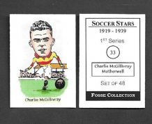 Motherwell Charlie McGillvray 33 (FC)